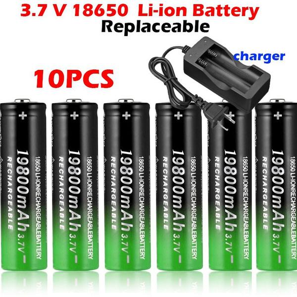 Flashlight, liionbatterie, 18650battery, Capacity