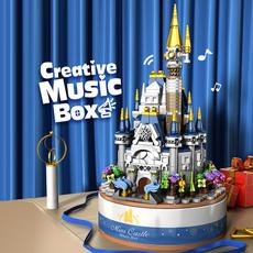 Box, diamondblock, musicbox, Music