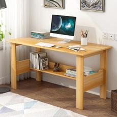 Wood, Modern, Office, desktopcomputerdesk