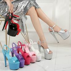 Summer, platformheel, sexy shoes, Fashion