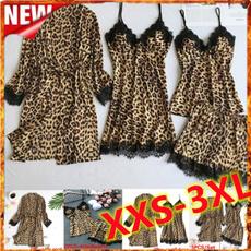 leopard print, silkpajama, satinpajama, Leopard