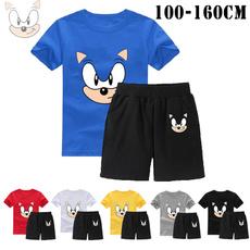 Boy, Shorts, Shirt, Summer