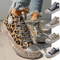casual shoes, Fashion, Platform Shoes, leopard print