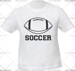 , unisexo, Football, Shirt