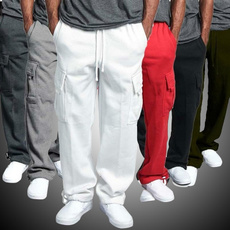 drawstringpant, elastic waist, sport pants, Fashion