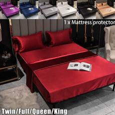 lenzuolo, silksheetskingsize, purple, Furniture