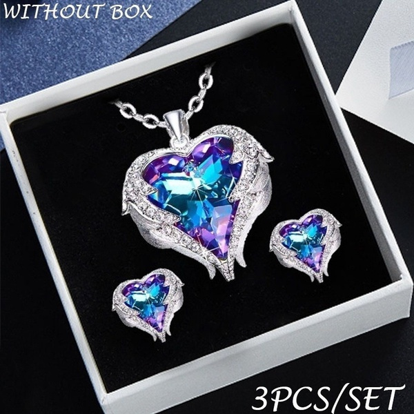 Heart, Silver Jewelry, Jewelry, Angel