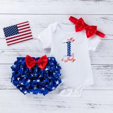 Baby Girl, babyindependenceday, Women's Fashion, Outfits