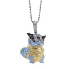 Turtle, allmatchpendant, hiphoppendant, Jewelry