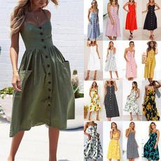 Summer, Fashion, Dress, casual dresses