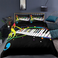 King, twinfullqueenkingsize, Polyester, pianobeddingset
