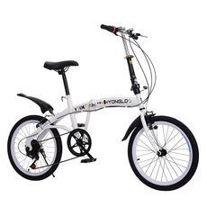 Steel, Compact, Bicycle, folding
