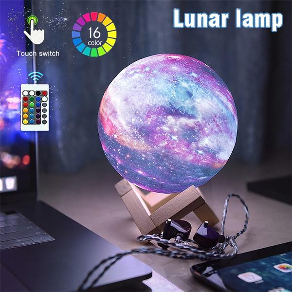 Star, Night Light, moonlamp, 3dledlamp