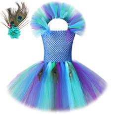 kids, peacock, girls dress, Outfits