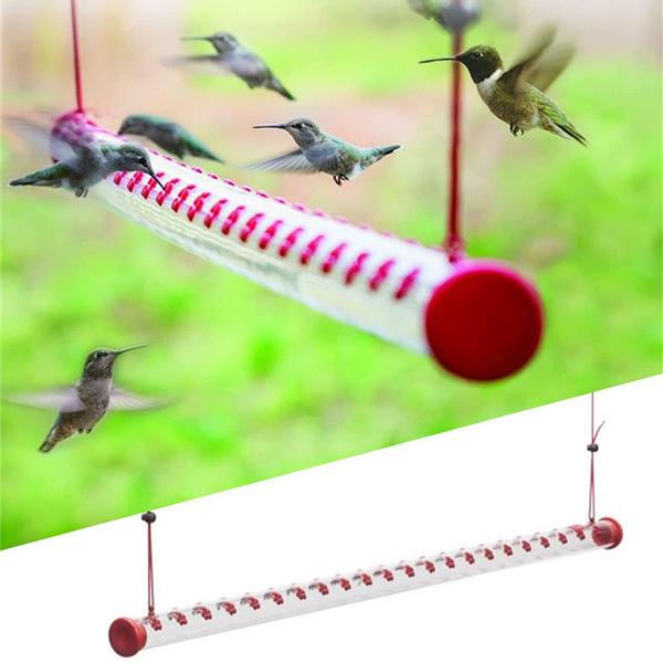 Summer, Decor, hummingbirdfeederforoutside, birdfeederwithbrightredtransparenttube