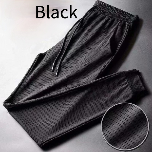 meshpant, Summer, silk, Casual pants