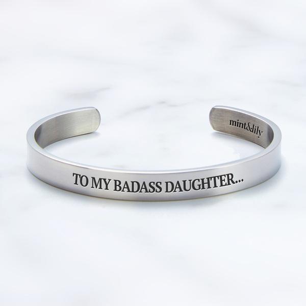 badasslovebracelet, Jewelry, badassdaughterjewelry, Love Bracelet