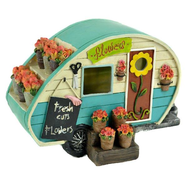 house, fairy, Flowers, Garden