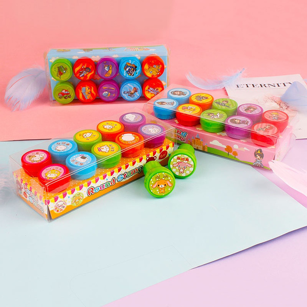 cute, Decor, Toy, Stamps
