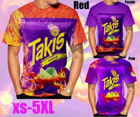 takissnack, Summer, shortsleevestshirt, 3dmentshirt