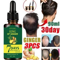 Natural, antihairlo, gingerhairoil, bald