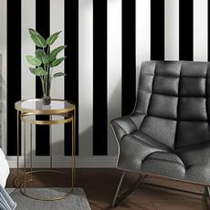 peelandstickwallpaper, selfadhesivewallpaper, Black And White, Waterproof