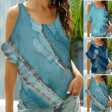 Summer, off shoulder top, Fashion, summer t-shirts