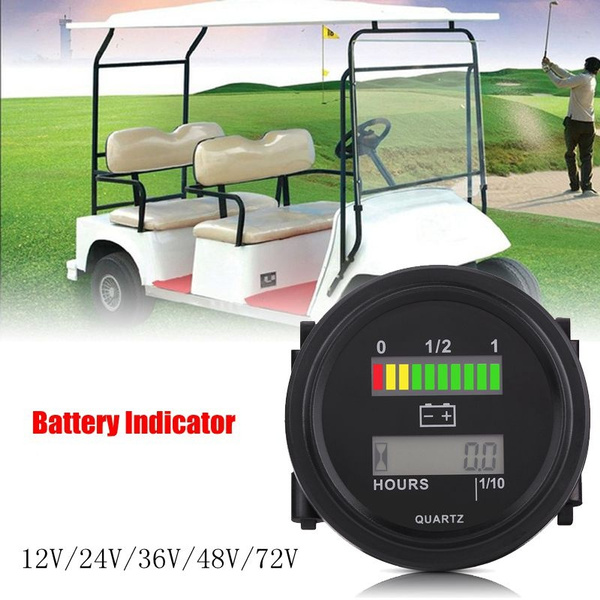 powerindicator, golfcartaccessorie, led, Battery