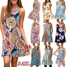 Sleeveless dress, dressesforwomen, Necks, womens dresses