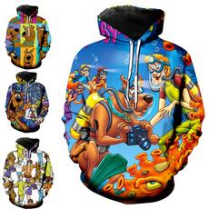 3D hoodies, scoobydoocostume, Hoodies, scoobydoo