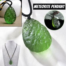 gempendant, Natural, Jewelry, meteoritenecklace