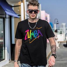 Fashion, Shirt, letter print, unisex