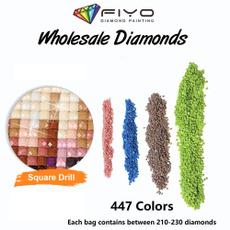 DIAMOND, diamondembroiderypainting, diamondpaintingfullround, diycraft