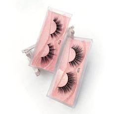 Eyelashes, False Eyelashes, mink, complete