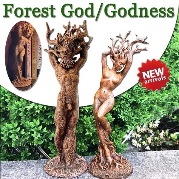 treegoddes, treegodornament, treegodstatue, gardencraft