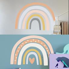 rainbow, Colorful, Waterproof, Wall