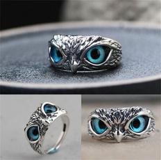 Blues, Owl, Fashion, animalring
