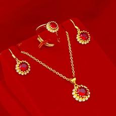 thestud, rubymicroinlaidsunflowerset, Jewelry, Sunflowers