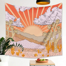 Mountain, Plants, walltapestry, simpleandfreshtapestry