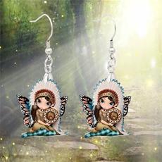 butterfly, butterflyfairyearring, Jewelry, romanticearring