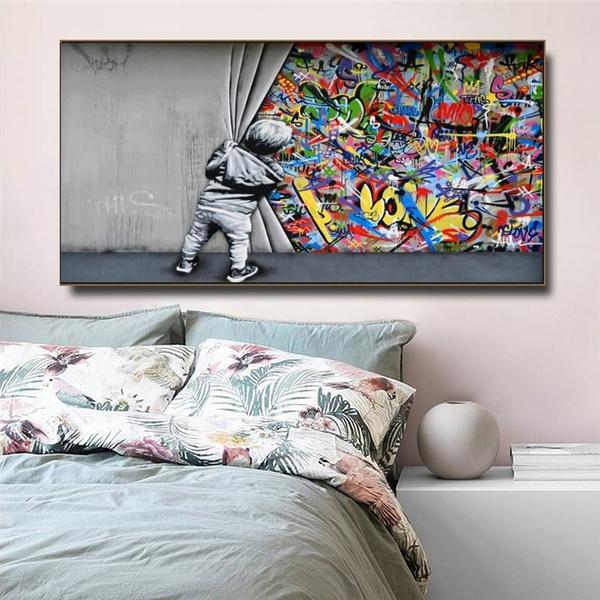colorfulgraffiti, Modern, art, streetart