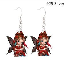 butterfly, Fashion, birdearring, Earring