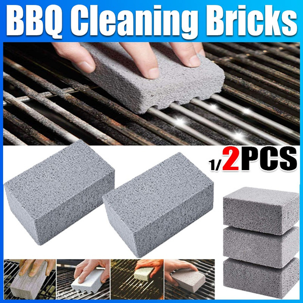 Grill, Kitchen & Dining, grillcleanerbrick, cleaningblock