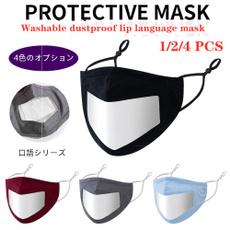 transparentmask, dustmask, visiblemask, faceshield