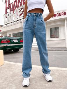 Vintage, Jeans, Waist, high waist