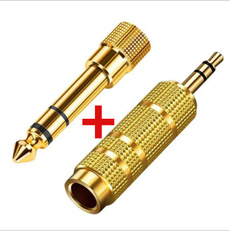 goldplated, Headset, Microphone, Converter
