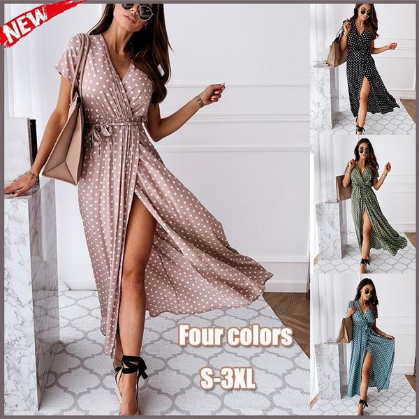 Summer, long skirt, Fashion, long dress