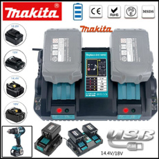 doublebatterycharger, dccharger, Battery Charger, makitabattery