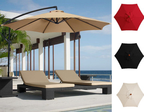 Decor, Cafe, beachumbrella, gardenumbrella