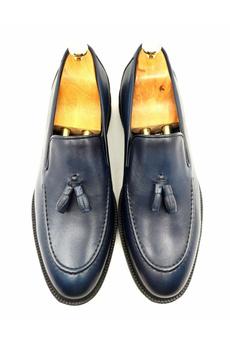 casual shoes, Blues, Tassels, Men